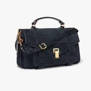 Proenza Schouler suede PS1 Medium Bag